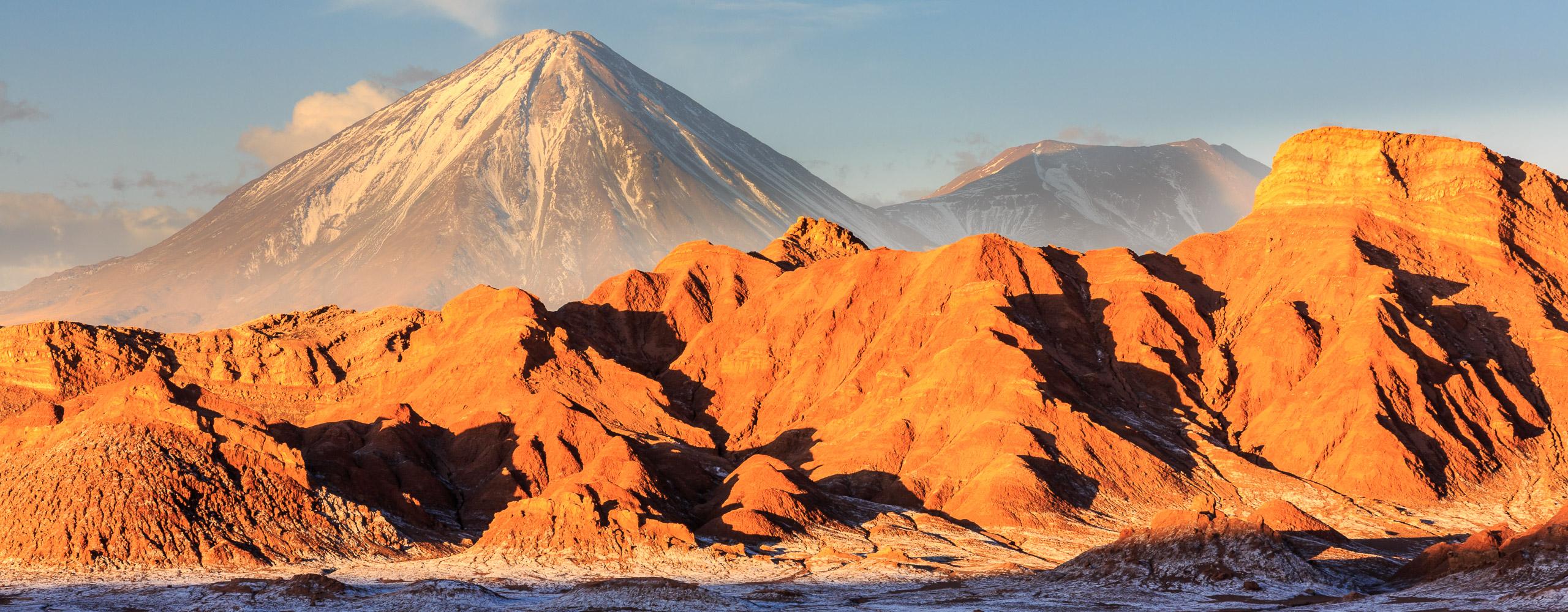 Lican Cabur Volcano, Chile
