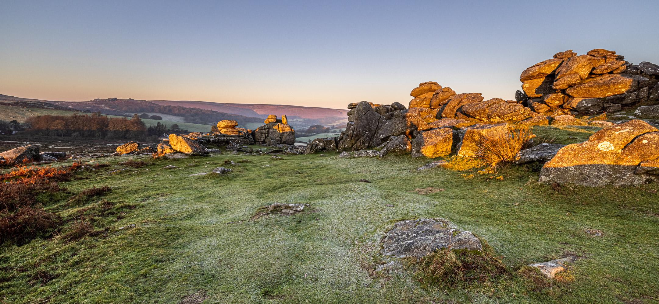 Hound Tor, Dartmoor, England