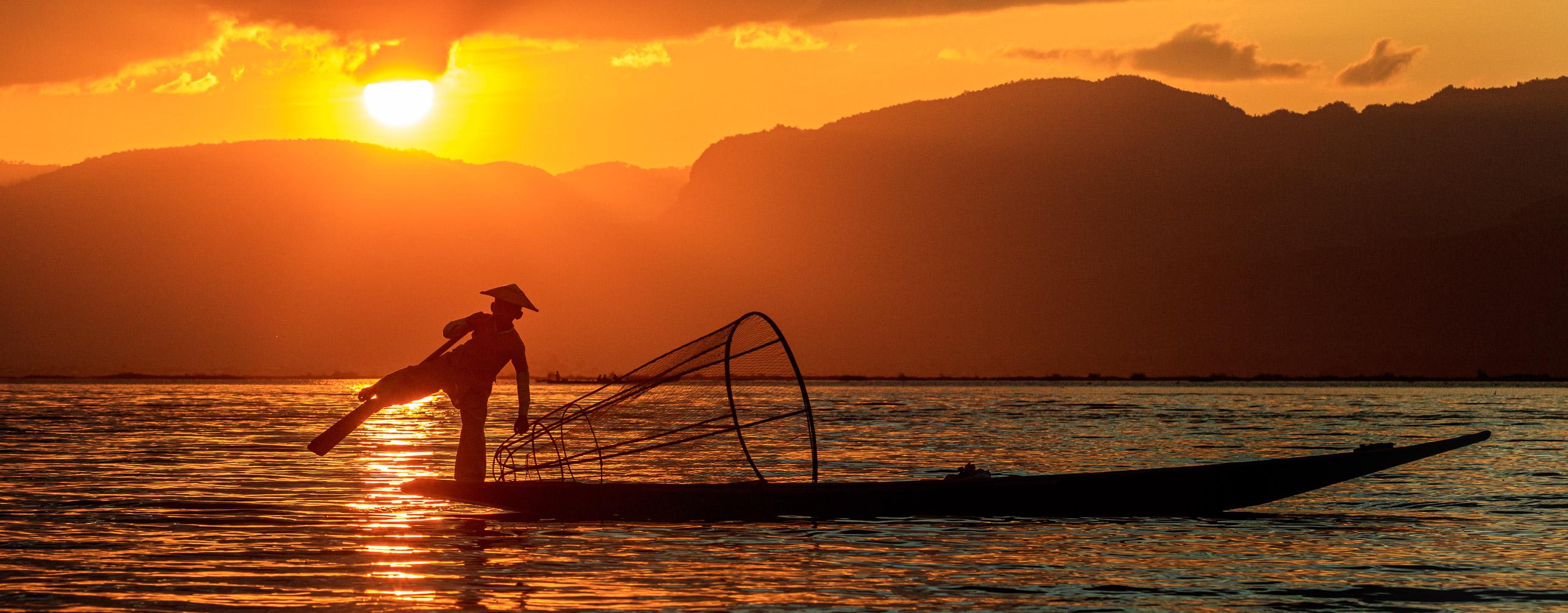 Lake Inle, Myanma