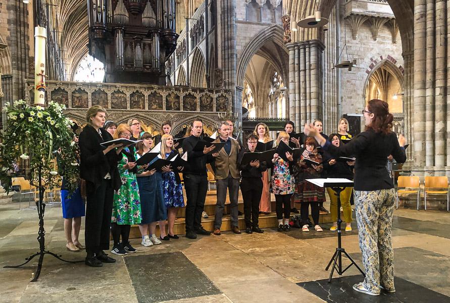 Swedish Church Choir in Devon