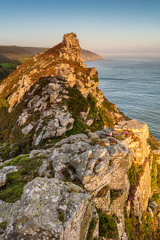 Castle Rock at Sunrise