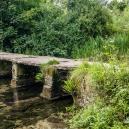 Connecting the two hamlets was this little clapper bridge (Keble's Bridge)
