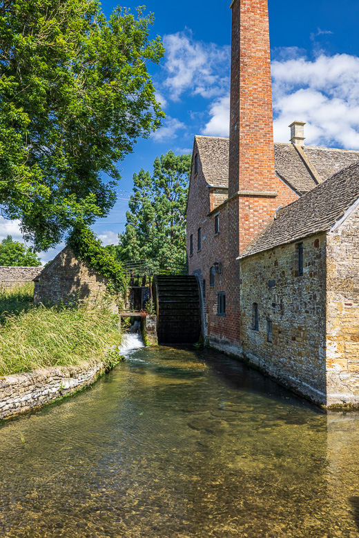 The watermill at Lower Salughter