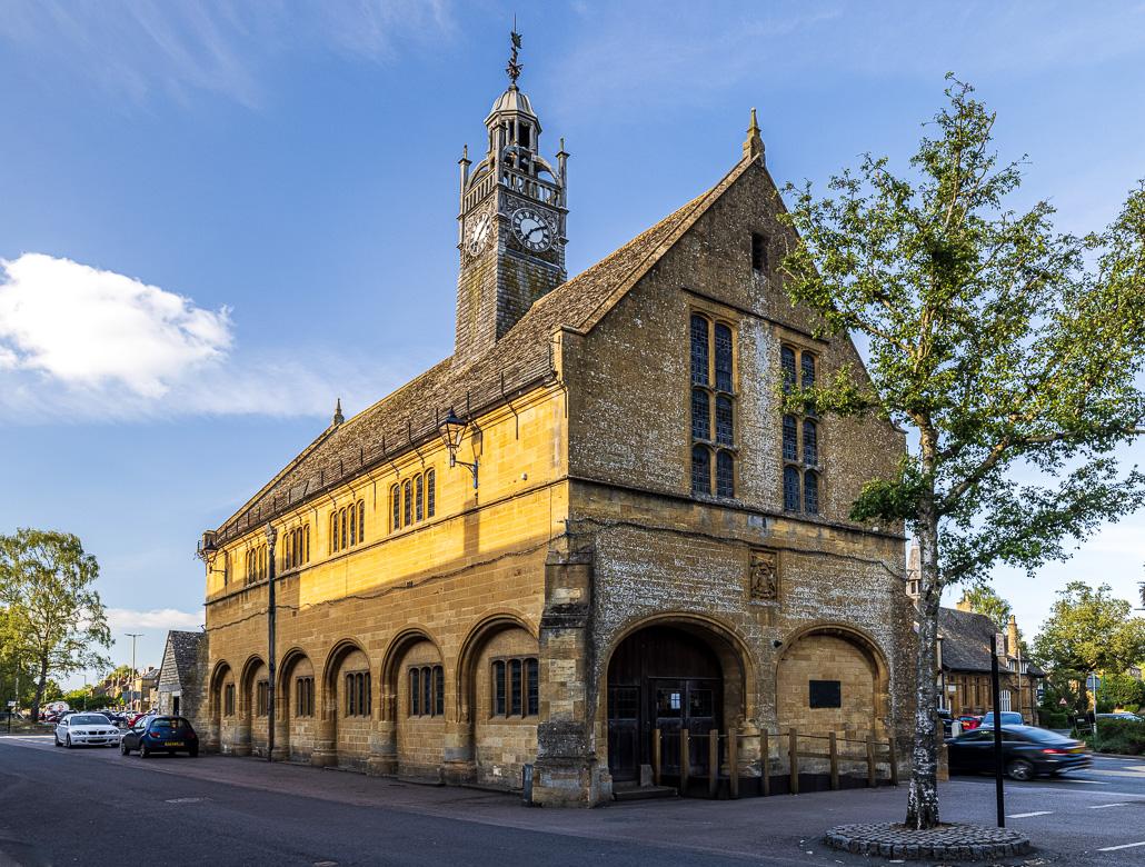 The Market Hall of Moreton-in-Marsh, built in 1887
