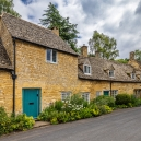 Snowshill Village with another typical row of cottages